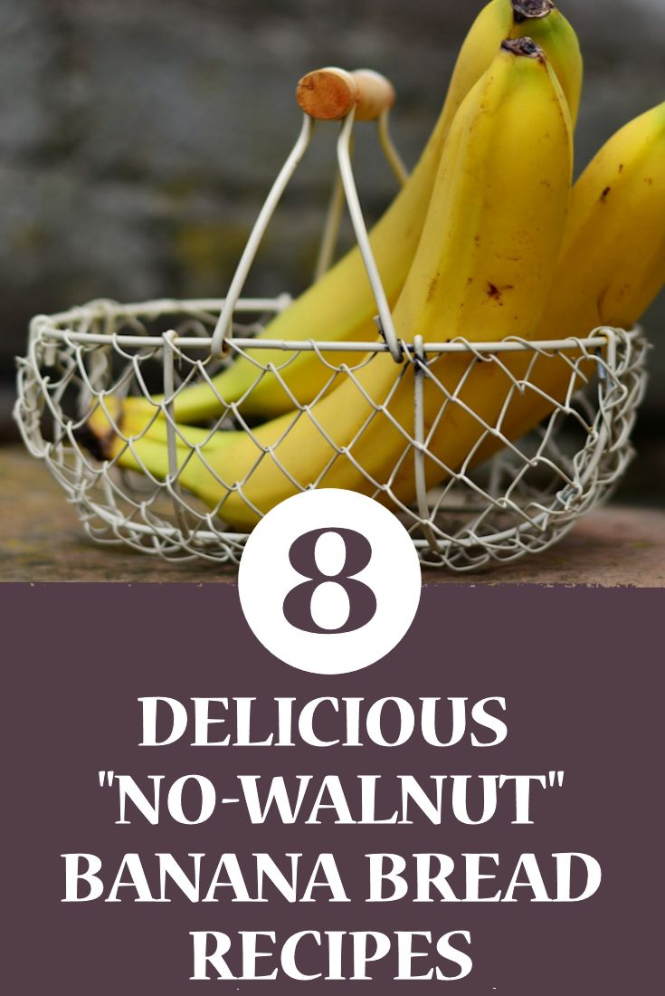 Eight Delicious No Walnut Banana Bread Recipes
