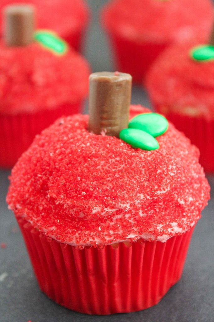 Photo Credit: Back to School Apple Cupcakes by Baking Beauty