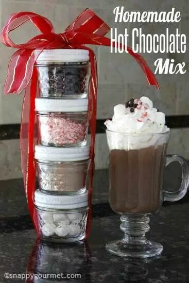 Homemade Hot Chocolate Mix by Snappy Gourmet