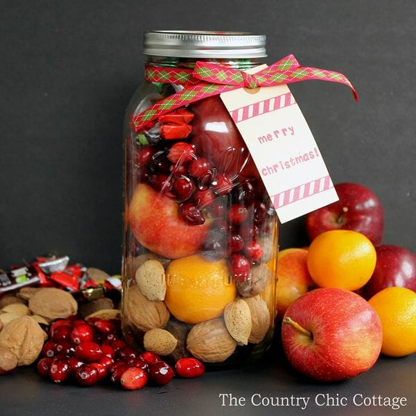 Fruit Basket in a Jar by The Country Chic Cottage