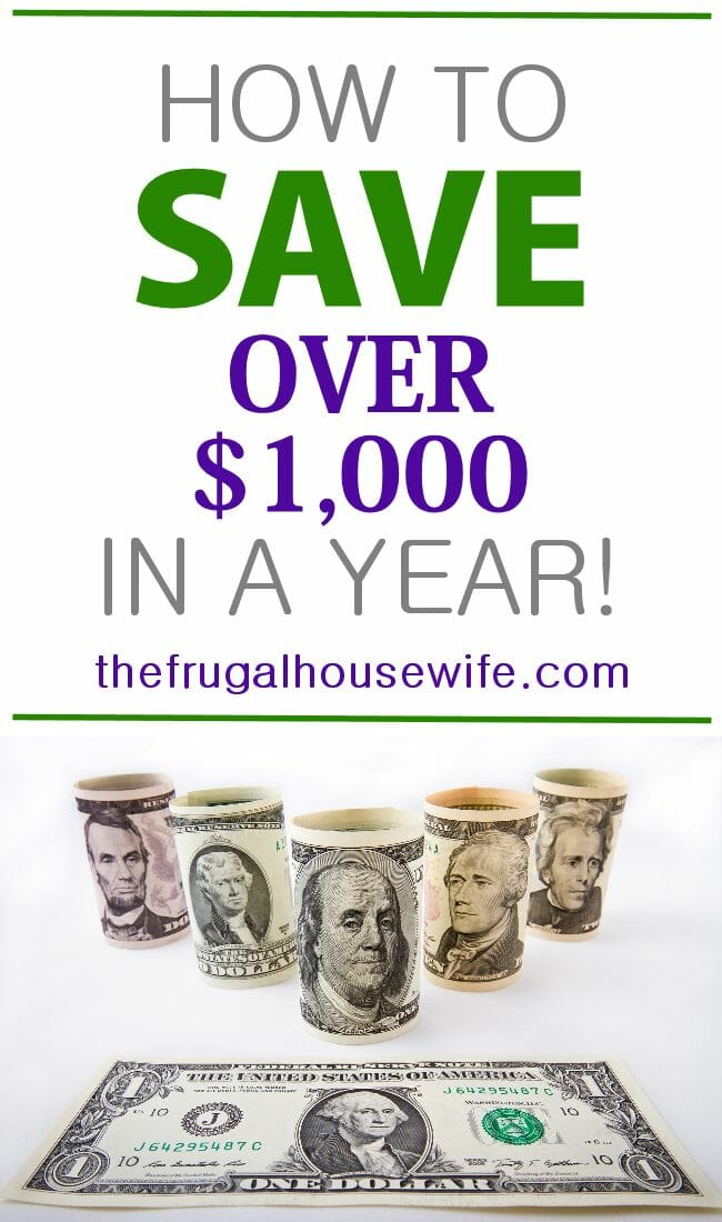 52 Week Money Challenge by The Frugal Housewife